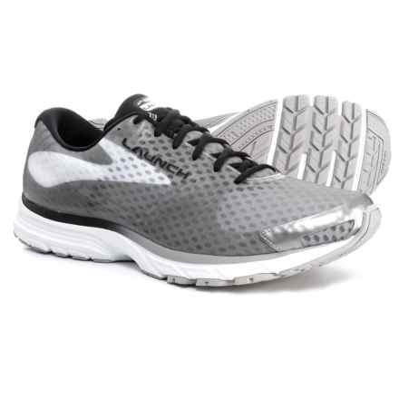 Brooks Launch 3 Running Shoes (For Men) in Black/White - Closeouts