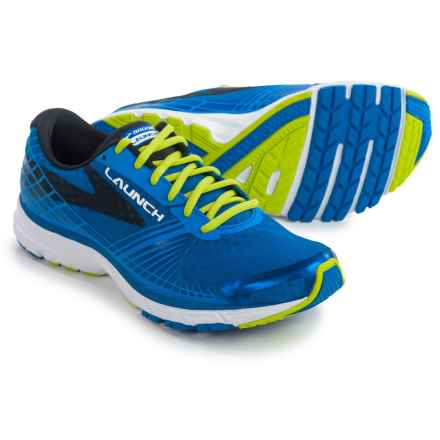 Brooks Launch 3 Running Shoes (For Men) in Electric Brooks Blue/Lime Punch/Black - Closeouts