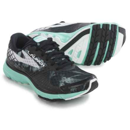 Brooks Launch 3 Running Shoes (For Women) in Black/White/Ice Green - Closeouts
