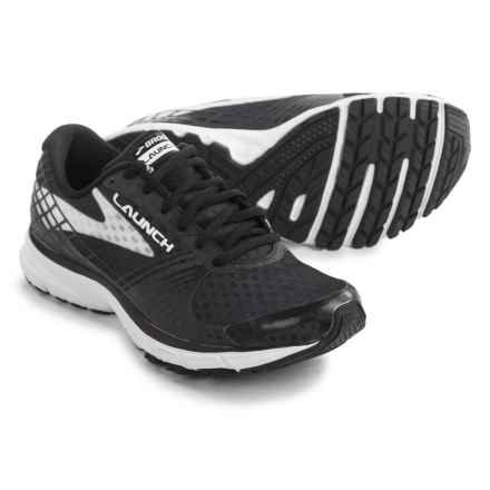 Brooks Launch 3 Running Shoes (For Women) in Black/White - Closeouts