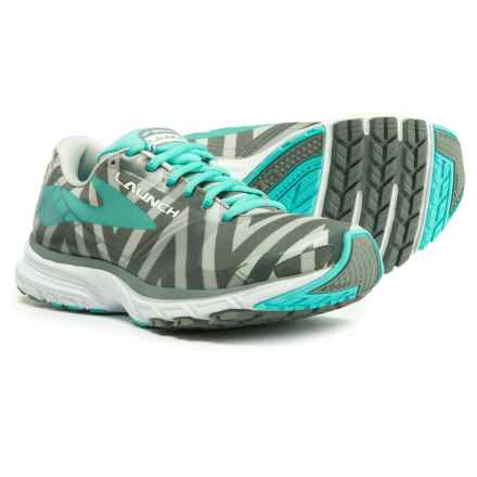Brooks Launch 3 Running Shoes (For Women) in Moon Grey/Blue Radience/Primer Grey - Closeouts