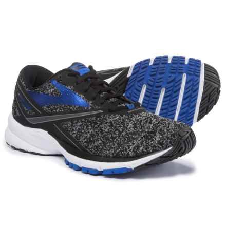 Brooks Launch 4 Running Shoes (For Men) in Black/Anthracite/Electric Brooks Blue - Closeouts