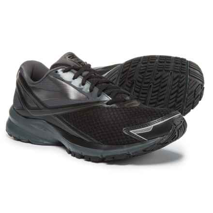 Brooks Launch 4 Running Shoes (For Men) in Black/Anthracite/Silver - Closeouts