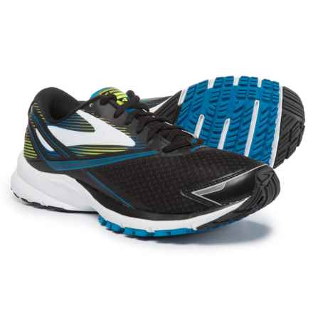 Brooks Launch 4 Running Shoes (For Men) in Black/Lapis Blue/Lime Popsicle - Closeouts