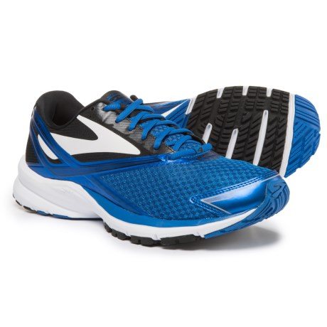 Brooks Launch 4 Running Shoes (For Men) in Electric Brooks Blue/Black/White