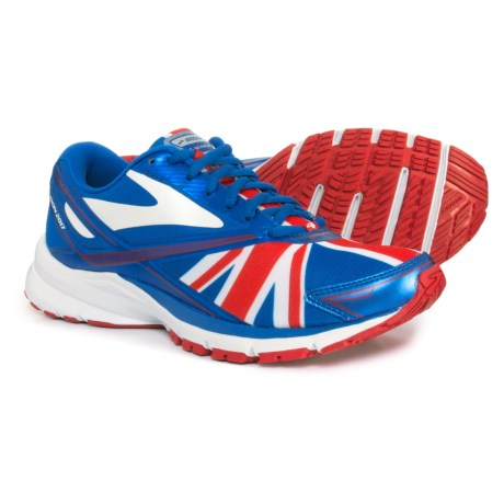 Brooks Launch 4 Running Shoes (For Women) in Electric Brooks Blue/Toreador/White - Boston Marat