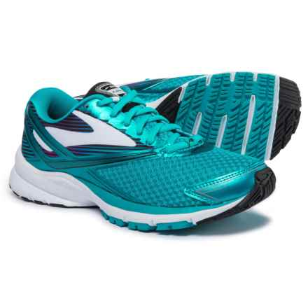 Brooks Launch 4 Running Shoes (For Women) in Teal Victory/White/Black - Closeouts