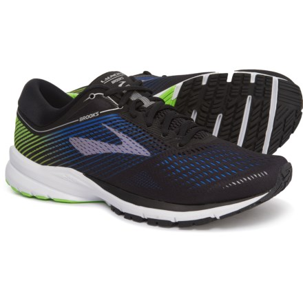 88f4b01ca443 Brooks Launch 5 Running Shoes (For Men) in Black Blue Green