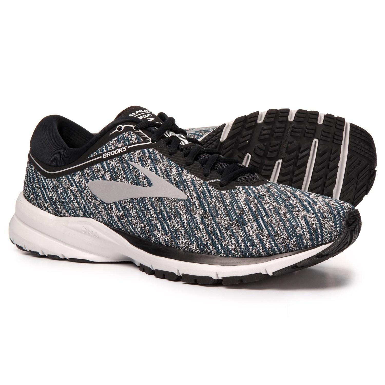 e66ebea0472 Brooks Launch 5 Running Shoes (For Men) in Black Ebony Primer Grey