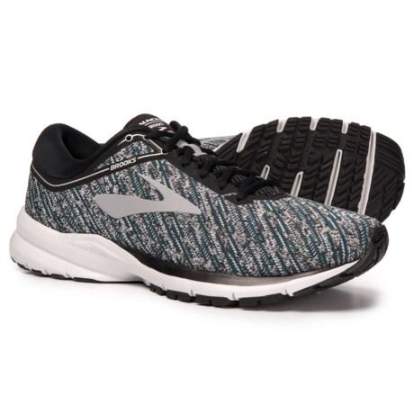 de34c516493 Brooks Launch 5 Running Shoes (For Men) in Black Ebony Primer Grey