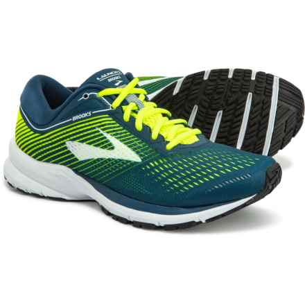 Brooks Launch 5 Running Shoes (For Men) in Blue/Nightlife/White