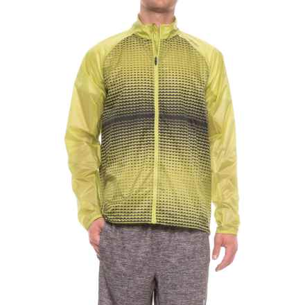 Brooks LSD Jacket (For Men) in Grove/Asphalt Verge - Closeouts