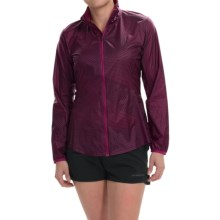 Brooks LSD Jacket (For Women) in Currant Big Sunshine - Closeouts