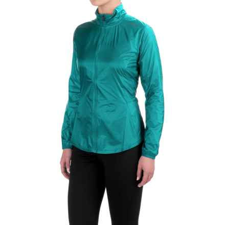 Brooks LSD Jacket (For Women) in Kale - Closeouts