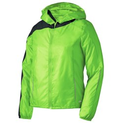 Brooks LSD Lite II Jacket (For Women) in White/Bright Pink