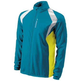 Brooks LSD Lite Jacket II (For Men) in Atlantic/Sulphur