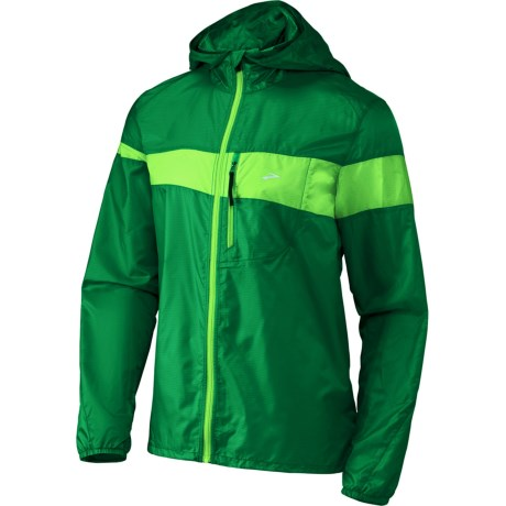 Brooks LSD Lite Jacket III (For Men) in Envy/Brite Green