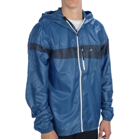 Brooks LSD Lite Jacket III (For Men) in Galaxy/Midnight