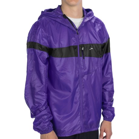 Brooks LSD Lite Jacket III (For Men) in Prince/Black