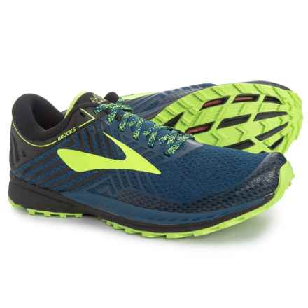 4a0906a86a9 Brooks Mazama 2 Trail Running Shoes (For Men) in Blue Black Nightlife