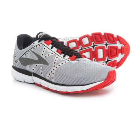 Brooks Neuro 2 Running Shoes (For Men) in Silver/Black/High Risk Red - Closeouts
