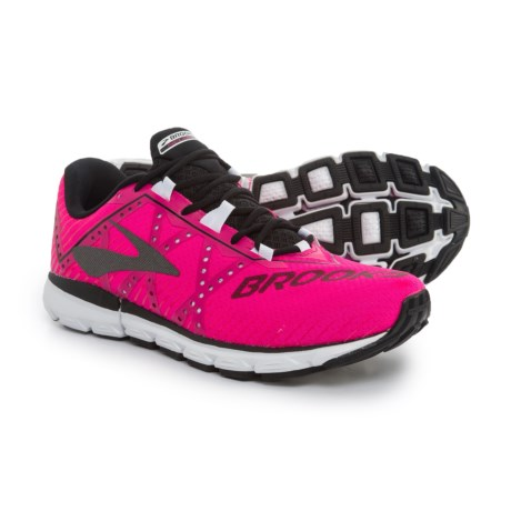Brooks Neuro 2 Running Shoes (For Women) in Pink Glo/Black/White