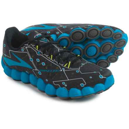 Brooks Neuro Running Shoes (For Men) in Metallic Charcoal/Electric Blue Lemonade/Night - Closeouts