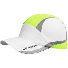 Brooks Nightlife Mesh Cap (For Men and Women) in Nightlife - Closeouts
