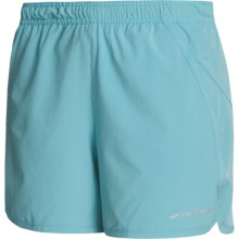 Brooks Pacer II Shorts (For Women) in Aqua - Closeouts