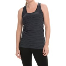 Brooks Pick-Up Tank Top (For Women) in Black/Asphalt - Closeouts