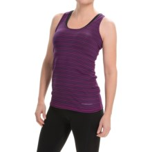 Brooks Pick-Up Tank Top (For Women) in Currant/Navy - Closeouts
