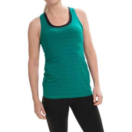Brooks Pick-Up Tank Top (For Women) in Kale - Closeouts