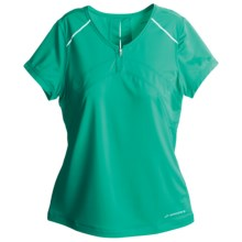 Brooks PR T-Shirt - Short Sleeve (For Women) in Minti - Closeouts
