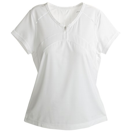 Brooks PR T-Shirt - Short Sleeve (For Women) in White