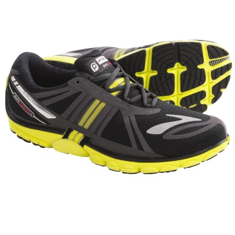 Brooks PureCadence 2 Running Shoes - Minimalist (For Men) in Fiesta/Highrise/Monument/Shadow