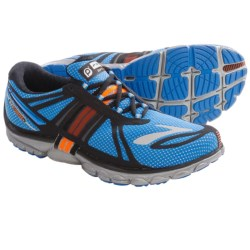 Brooks PureCadence 2 Running Shoes - Minimalist (For Men) in Black/Anthracite/Lava/Nightlife/Silver