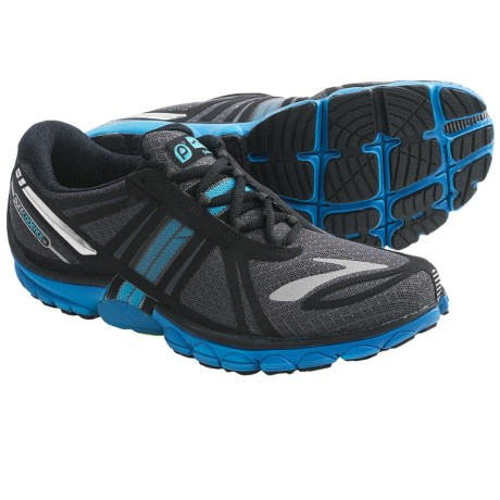 Brooks PureCadence 2 Running Shoes - Minimalist (For Women) in Anthracite/Black/Atomic Blue/Green Gecko