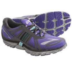 Brooks PureCadence 2 Running Shoes - Minimalist (For Women) in Electric Purple/Anthracite/Blue Radiance