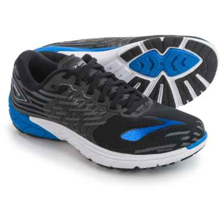 Brooks PureCadence 5 Running Shoes (For Men) in Black/Electric Brooks Blue/Anthracite - Closeouts