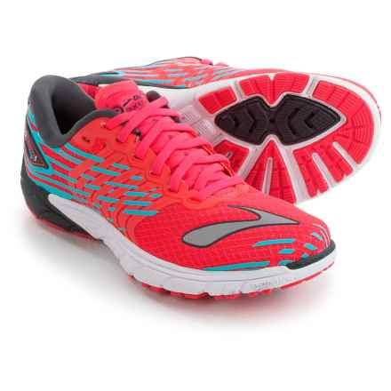 Brooks PureCadence 5 Running Shoes (For Women) in Diva Pink/Anthracite/Bluefish - Closeouts