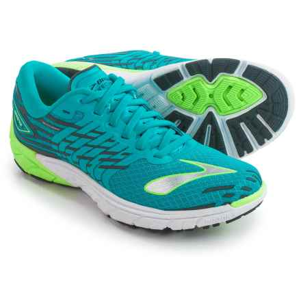 Brooks PureCadence 5 Running Shoes (For Women) in Scuba Blue/Green Gecko/Anthracite - Closeouts