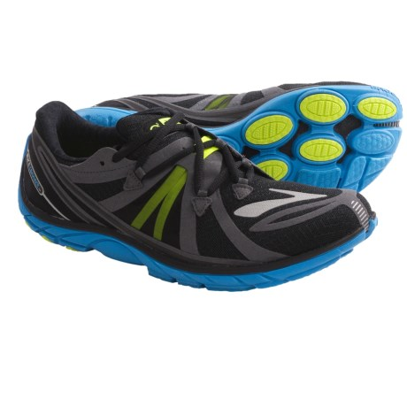 Brooks PureConnect 2 Running Shoes - Minimalist (For Men) in Fern/Nightlife/Silver/Black