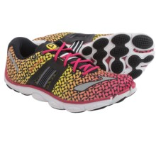 Brooks PureConnect 4 Running Shoes - Minimalist (For Women) in Raspberry/Sun Orange/Vibrant Yellow - Closeouts