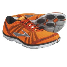 Brooks PureConnect Running Shoes - Minimalist (For Men) in Shocking Orange/Cherry Tomato/Black - Closeouts