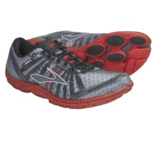 Brooks PureConnect Running Shoes - Minimalist (For Men) in Slam/Shadow/Black/Metallic Silver - Closeouts