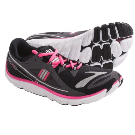 Brooks PureDrift Running Shoes - Minimalist (For Women) in Black/Brite Pink/Nightlife/Anthracite