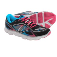 Brooks Pureflow 3 Running Shoes (For Big Kids) in Black/Raspberry Sorbet/Blue Jewel - Closeouts