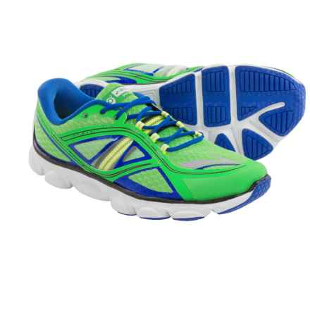 Brooks Pureflow 3 Running Shoes (For Big Kids) in Classic Green/Electric/Nightlife - Closeouts