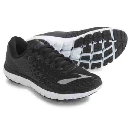Brooks PureFlow 5 Running Shoes (For Men) in Black/Anthracite/White - Closeouts