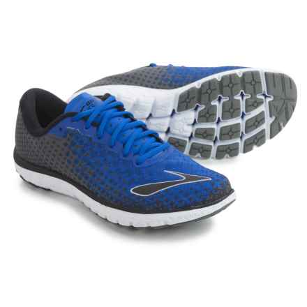 Brooks PureFlow 5 Running Shoes (For Men) in Electric Brooks Blue/Castlerock/Black - Closeouts